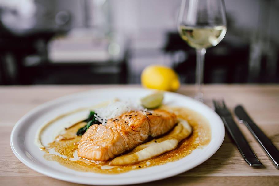 Vis en wijn