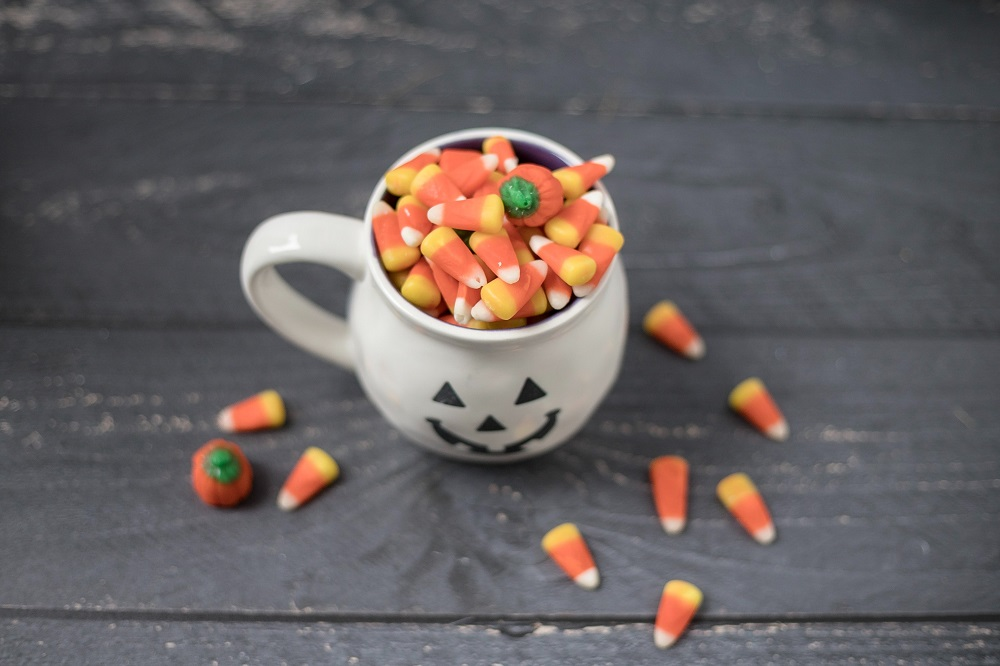 Halloween snacks snoepjes
