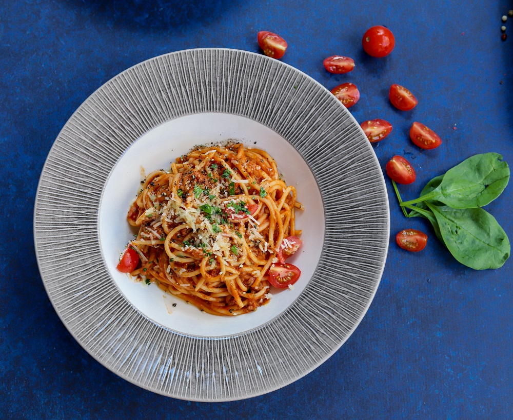 spaghetti rode wijnsaus